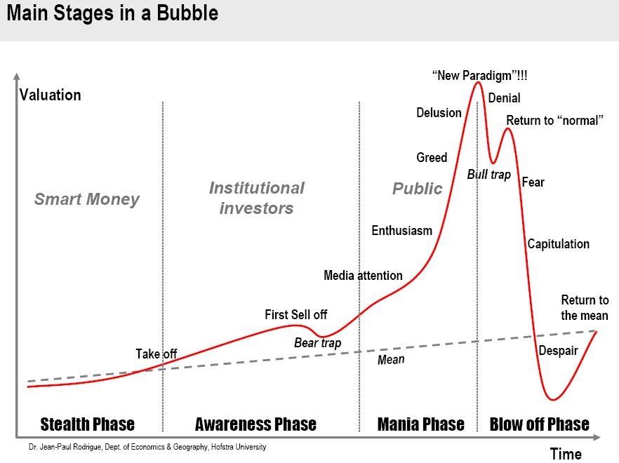 anatomy of a stock market crash